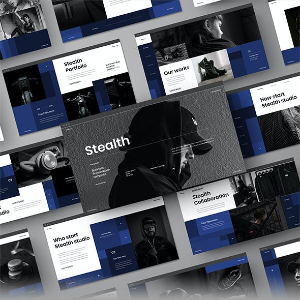 Stealth – Business PowerPoint Template