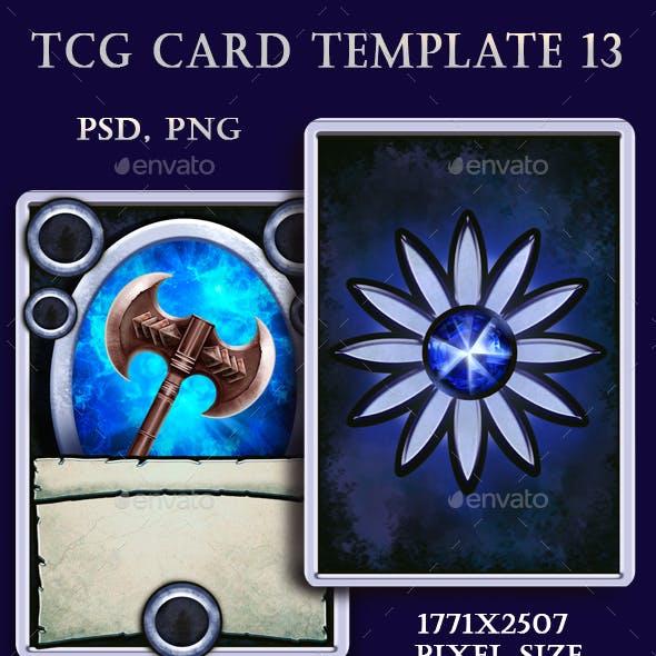 TCG Card Template 13