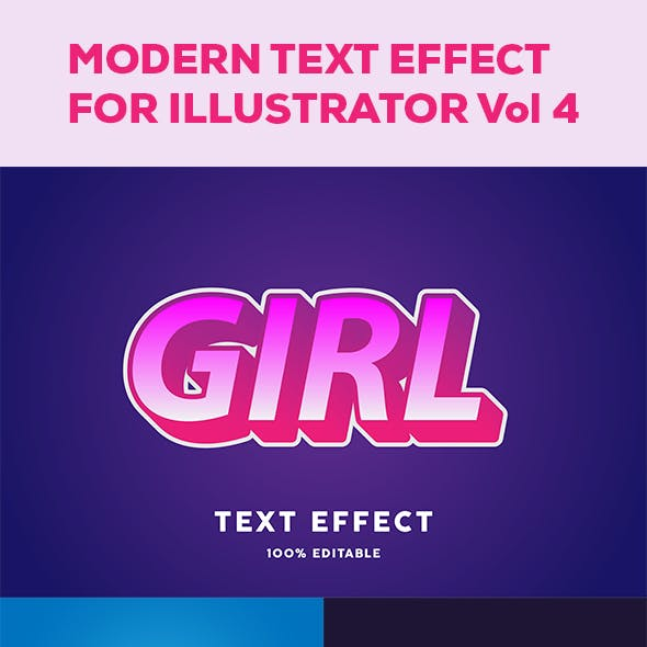 Modern Text effect vol 4