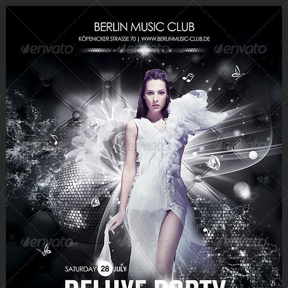 Deluxe Party Poster/Flyer