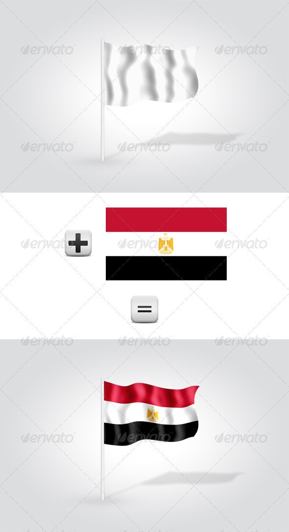 Flag Mock-Up - Miscellaneous Product Mock-Ups