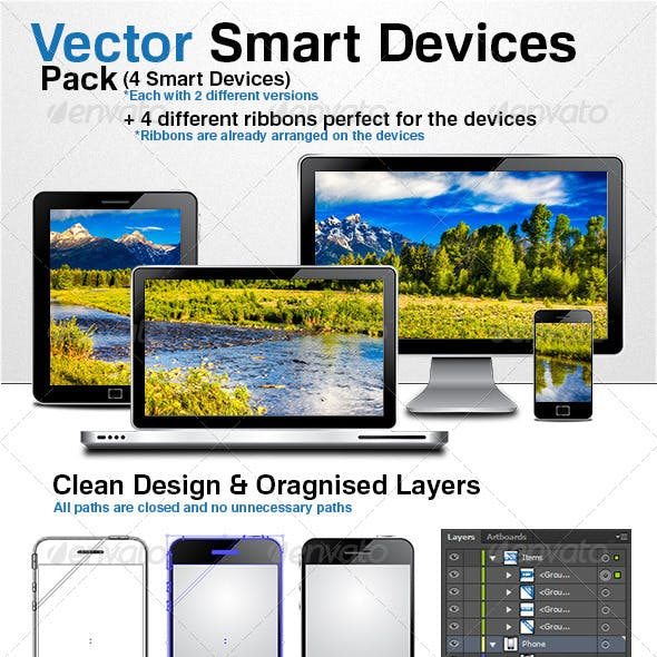 Vector Smart Devices Pack