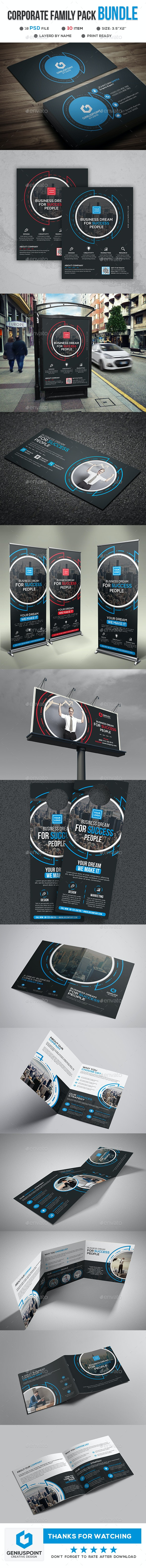 Corporate Family Pack Vol:01 - Print Templates