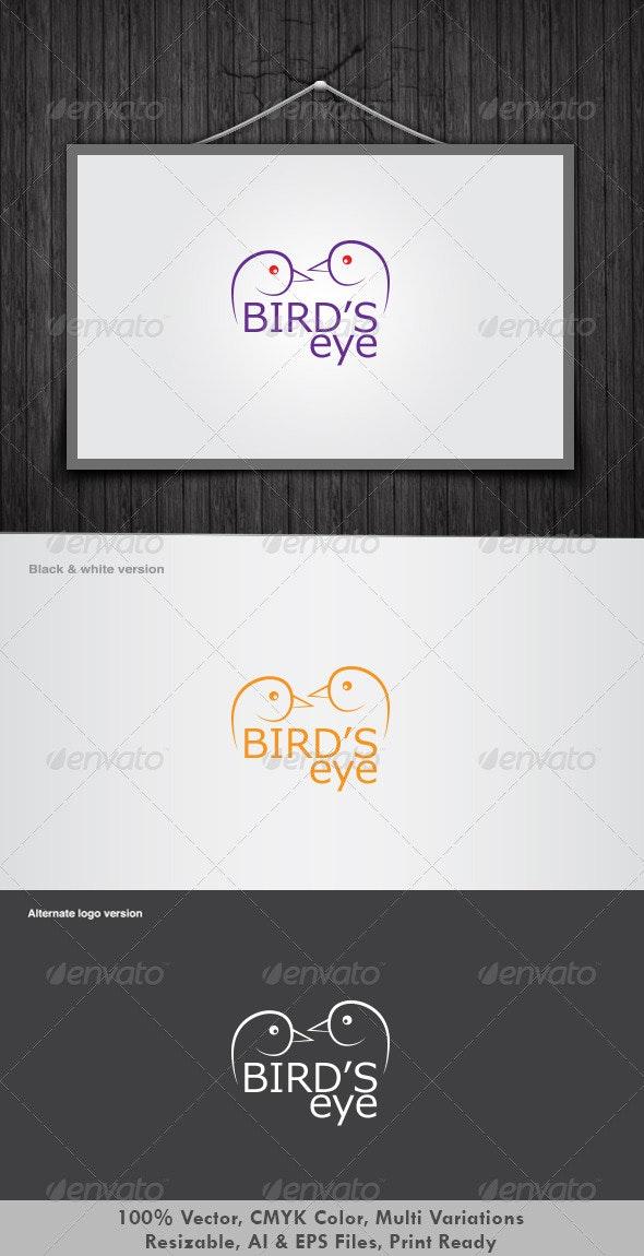 Birds Eye Logo - Animals Logo Templates