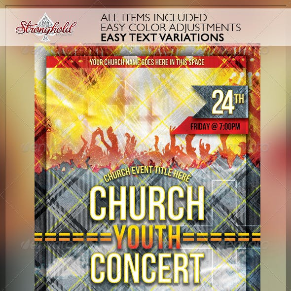 Church Group Event Flyer Template