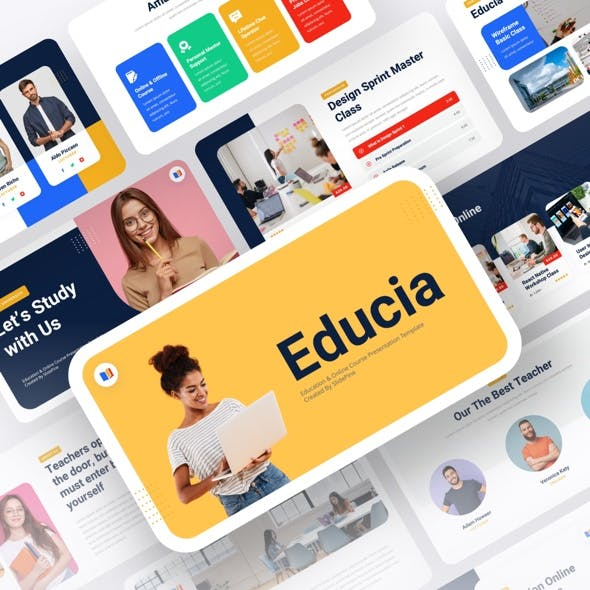 Educia - Education & Online Course Powerpoint Template