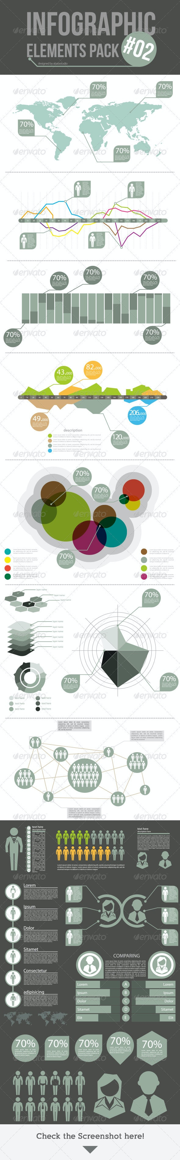 Infographic Elements Pack 02 - Infographics