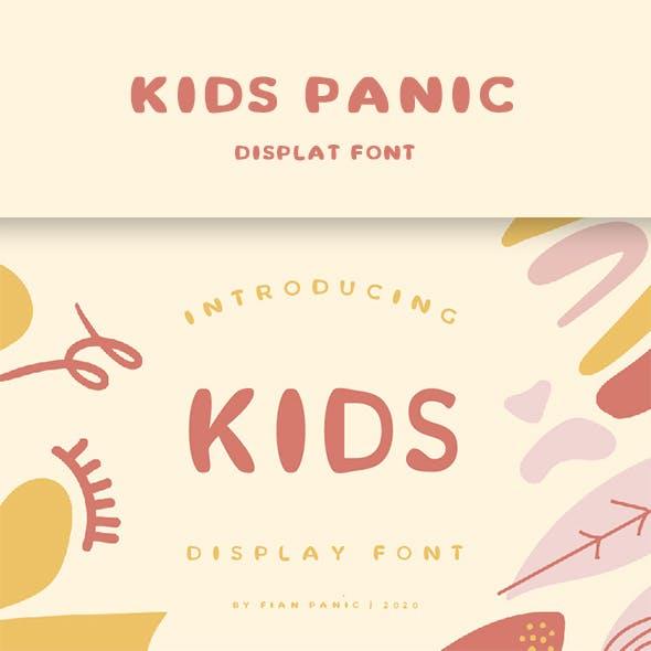 Kids Panic Font