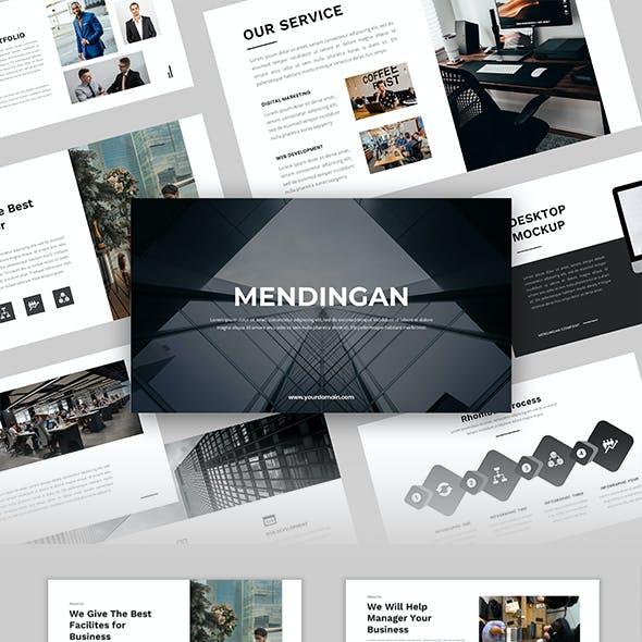 Mendingan – Business PowerPoint Template