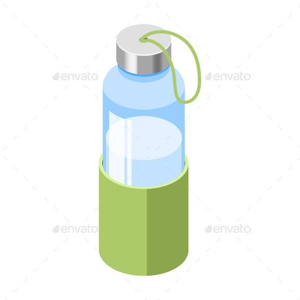 My Eco Bottle Composition - Nature Conceptual