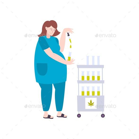 Extraction Of Marijuana Composition