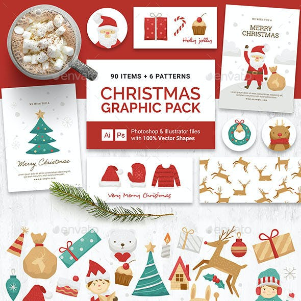Christmas Clipart & Vector Graphics Pack