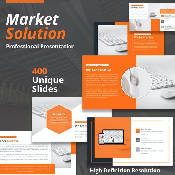 Market Solution Powerpoint Template