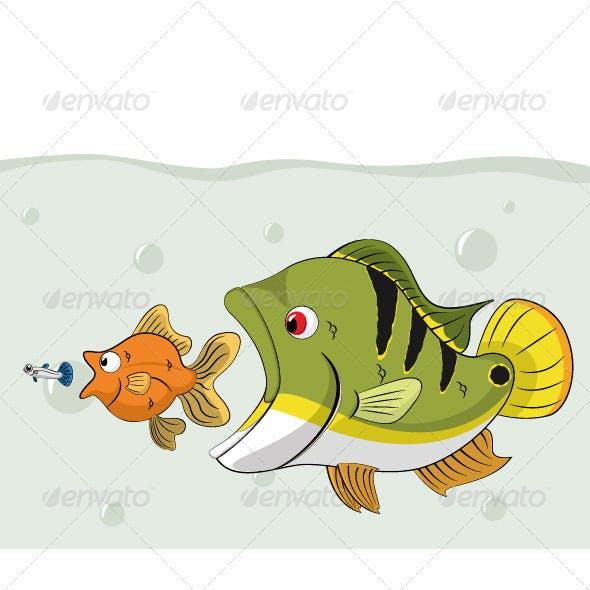 Fish Chain Food