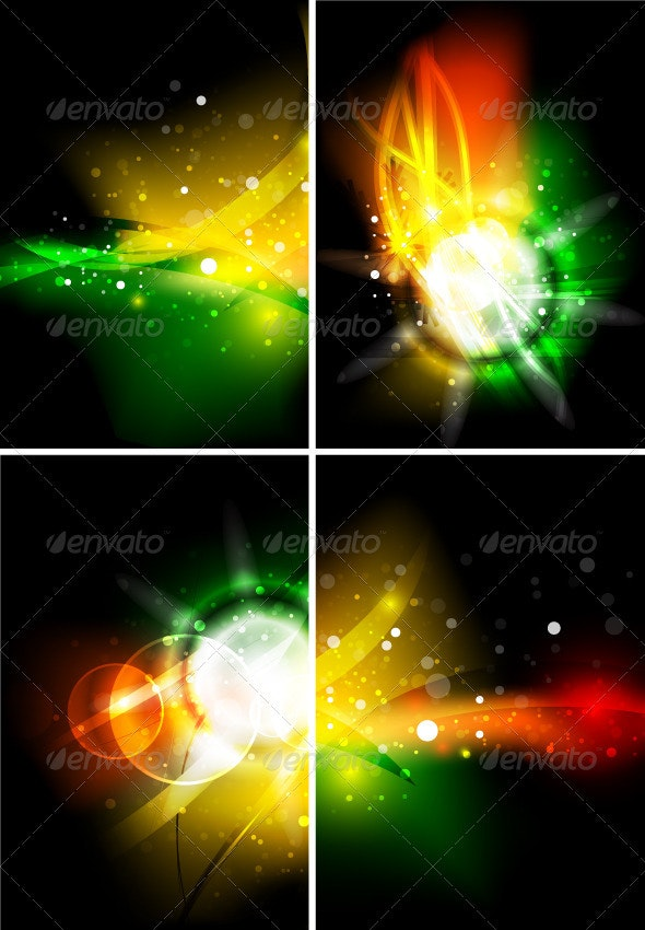 Glowing Dark Energy Backgrounds - Backgrounds Decorative