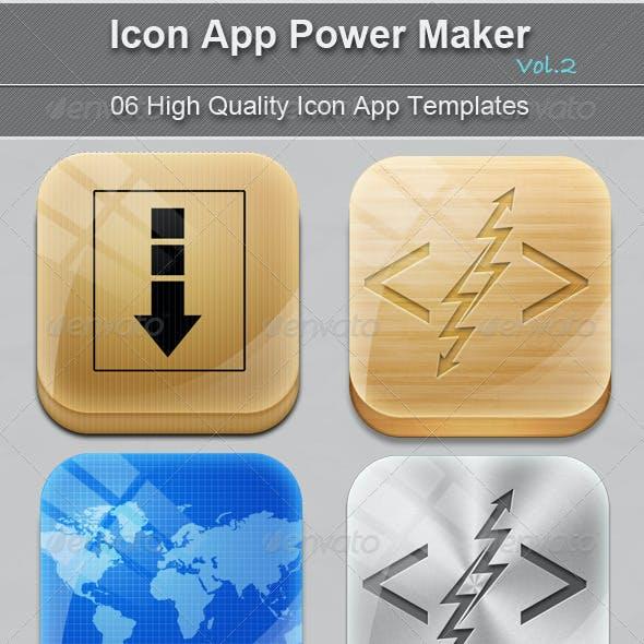 Icon App Power Maker Vol.2