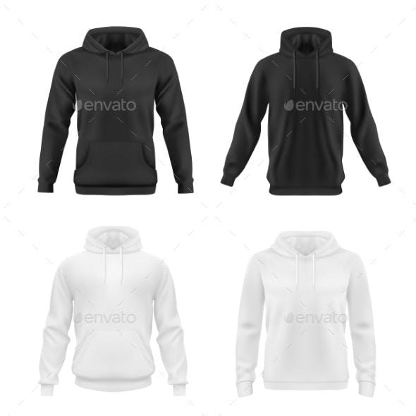 Hoodie, Sweatshirt Vector Mockup, Teen Fashion