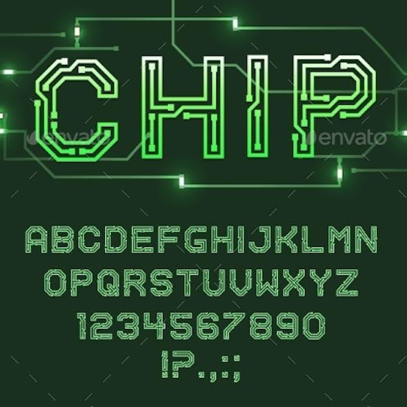 Printed Circuit Board Font, Computer Technologies