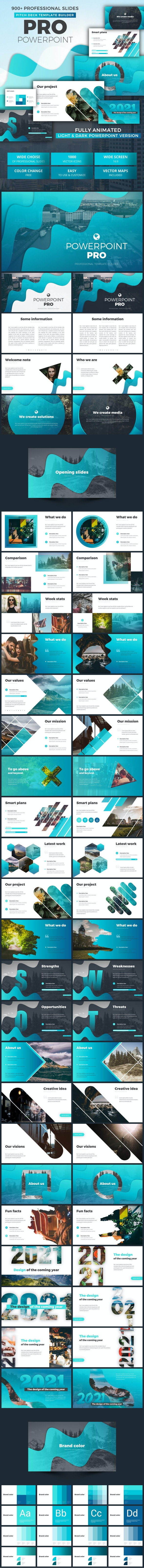 Powerpoint Business Pitch Deck - Pitch Deck PowerPoint Templates