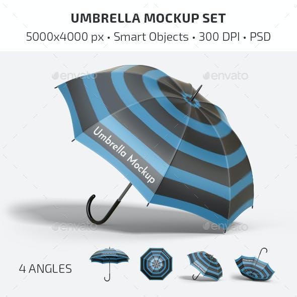 Umbrella Mockup Set