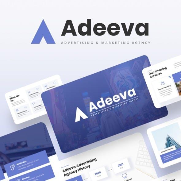 Adeeva - Advertising & Marketing Agency Keynote Template