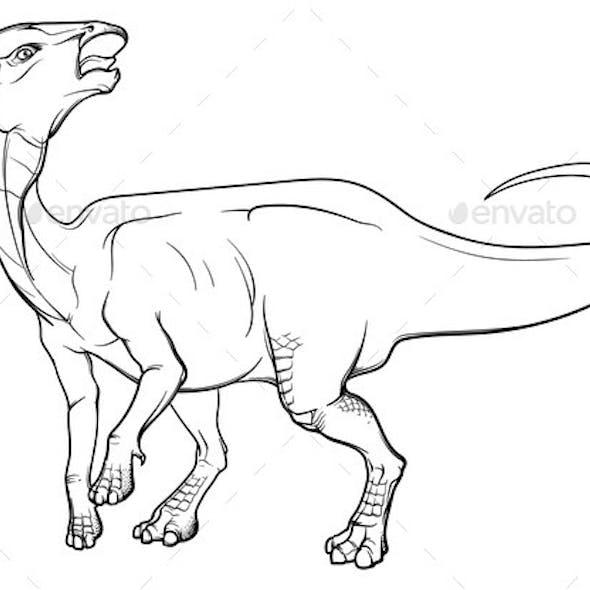 Parasaurolophus Calling the Herd