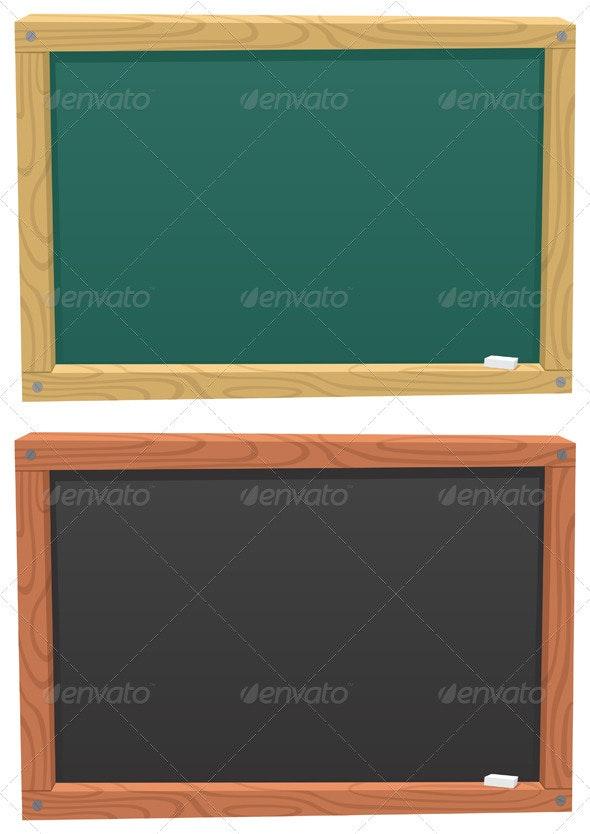 Blackboard - Backgrounds Decorative