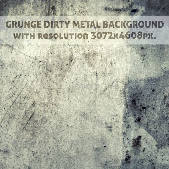 Grunge Dirty Metal Background
