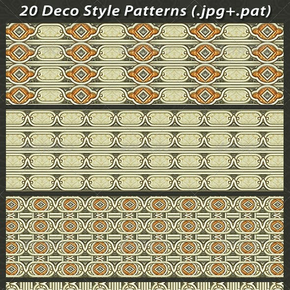 20 Deco Style Patterns