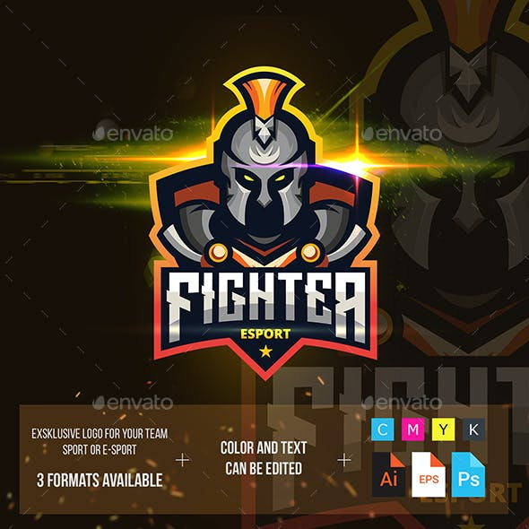 Fighter Esport Logo For Your Team