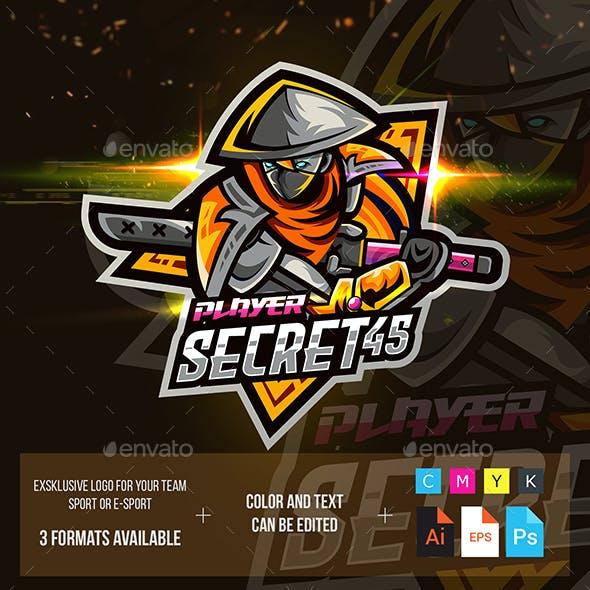 Ninja Logo For Mobile Game