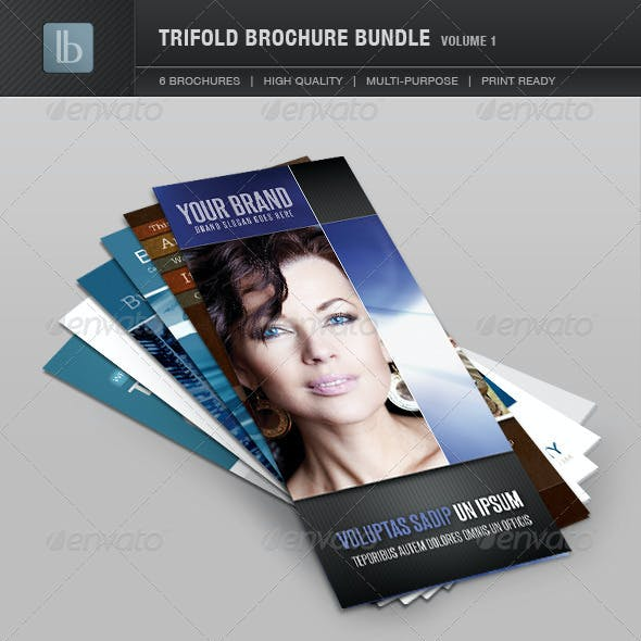 Trifold Brochure Bundle | Volume 1