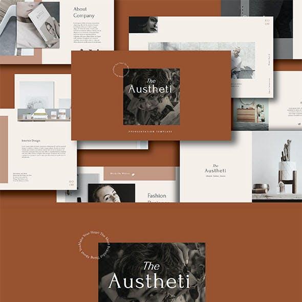 The Austheti Google Slide Template