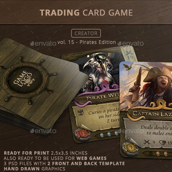 Trading Card Game Creator - Vol 15 - Pirates