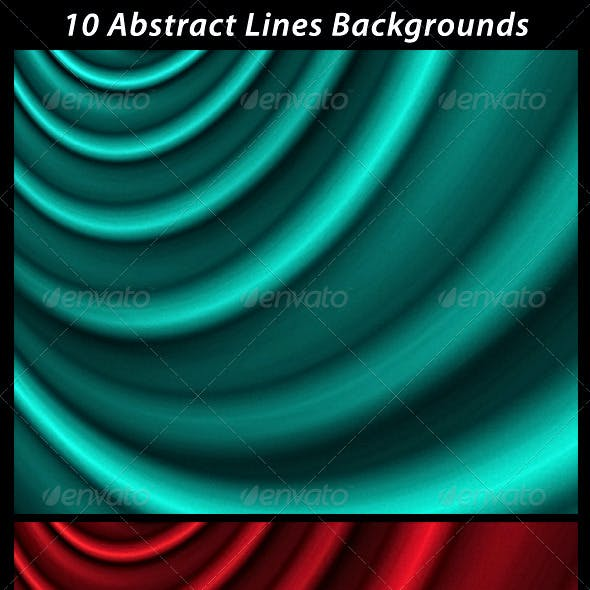 10 Abstract Lines Backgrounds