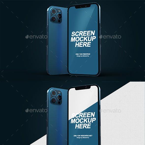 Phone 12 Pro Mockup Template