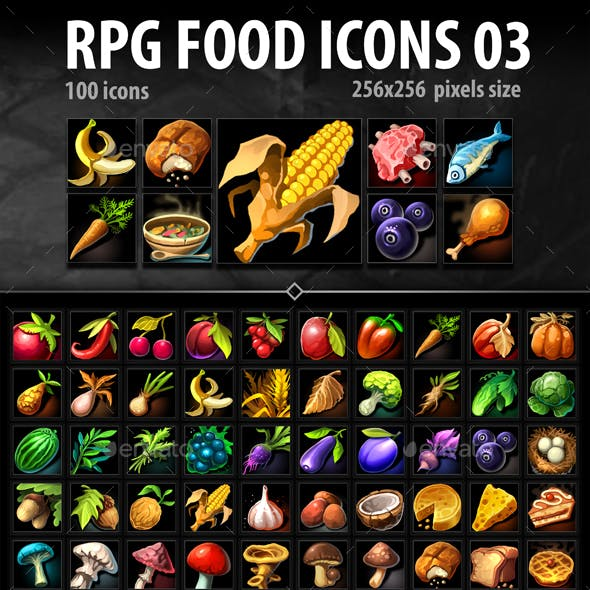 RPG Food Icons 03
