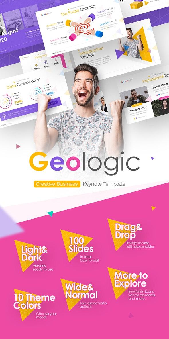 Geologic Multipurpose Business Keynote Presentation Template - Creative Keynote Templates
