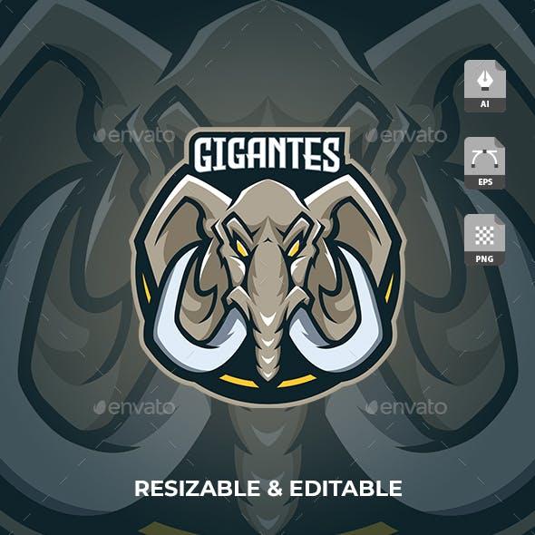 Elephant Gaming Sport Logo