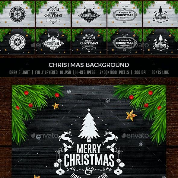Christmas Card / Web Backgrounds