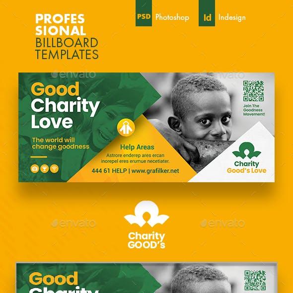 Charity Billboard Templates