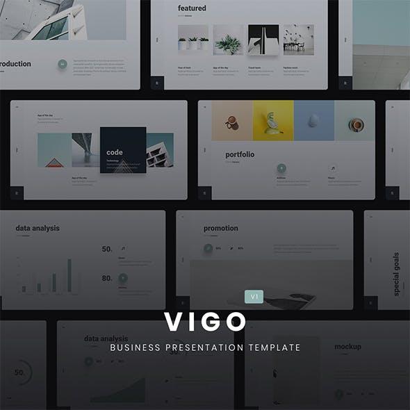 VIGO - Minimal Presentation Template (Google Slides)
