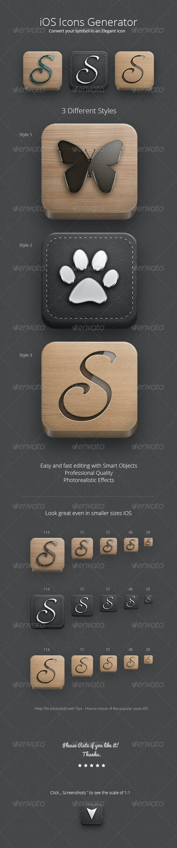 iOS Icons Generator - Software Icons