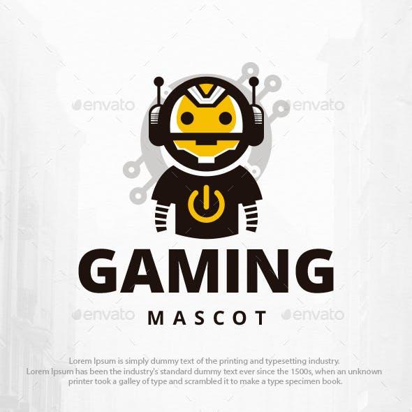 Gaming Robot Logo Template