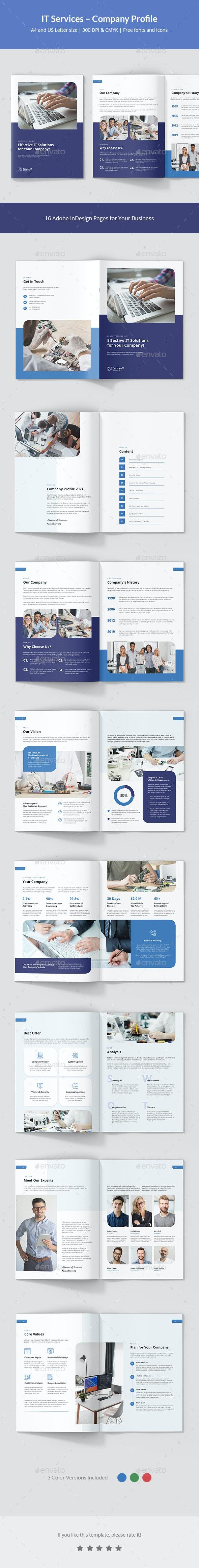IT Services – Company Profile - Corporate Brochures