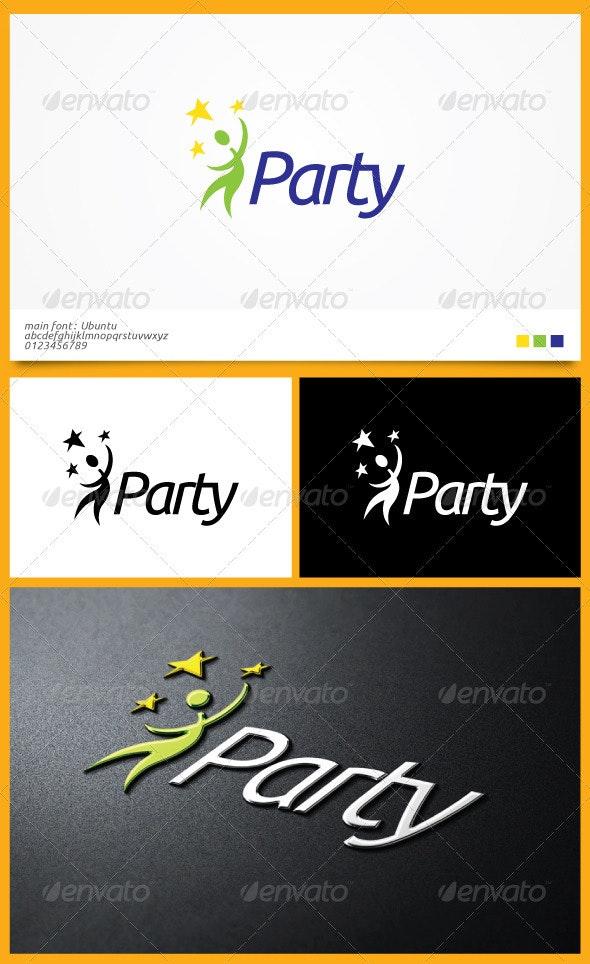 Party Logo Template - Humans Logo Templates
