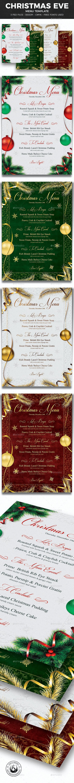 Christmas Menu Template V1 - Restaurant Flyers