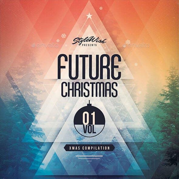 Future Christmas CD Cover Artwork