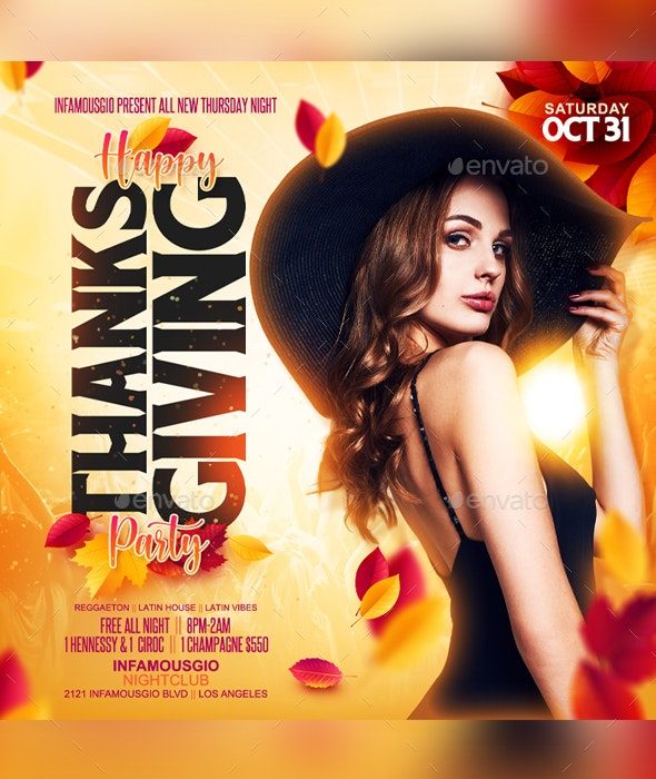 Happy Thanksgiving - Clubs & Parties Events