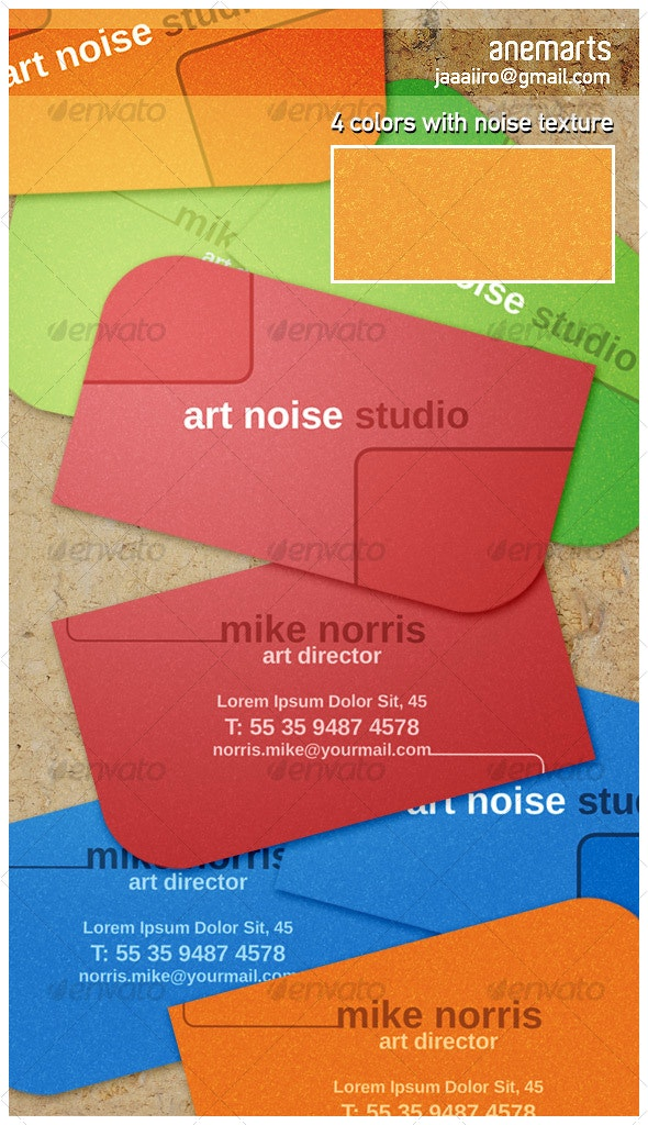 Noise Card - Corporate Business Cards